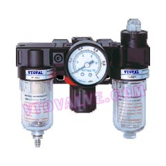 AC1500,AC2000 F.R.L combination (Filter Regulator Lubricator Combination)