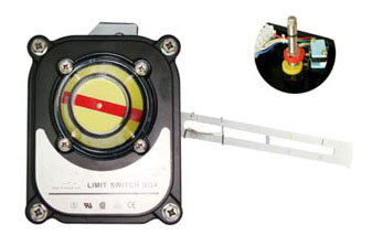 ALS300LM2 Linear Limit Switch Box, ALS300LM2 Series Linear Valve Monitor
