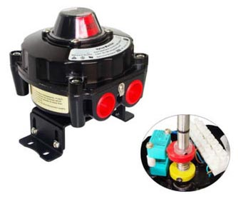 ALS400PP22 Limit Switch Box, ALS400PP22 Series Valve Monitor