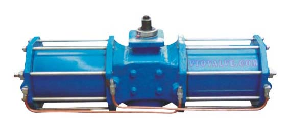 AW Series Scotch Yoke Heavy-duty Double Acting Pneumatic Actuators