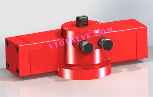 HA50 - HA Series Miniature Rotary Hydraulic Actuator