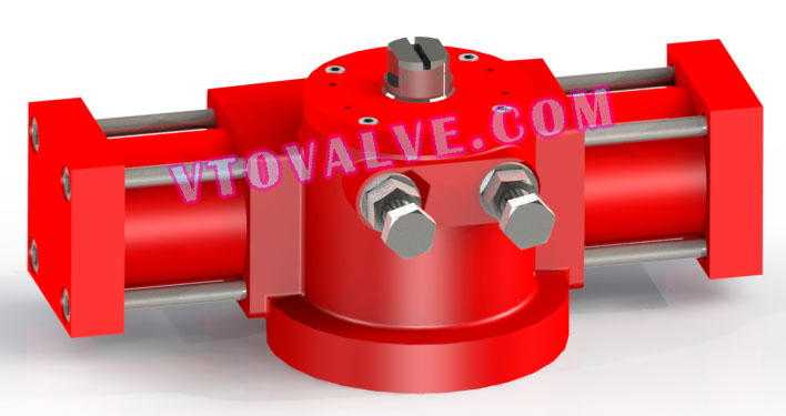 HA63 - HA Series Miniature Rotary Hydraulic Actuator