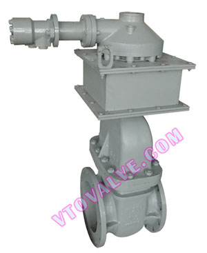 Screw Down Hydraulic Gate Valves, Submerged Type Hydraulic Gate Valves