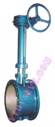 Flanged Butterfly Valves with Extension Stem