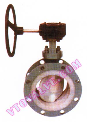 F46 Lined Flanged Butterfly Valves