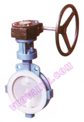 F46 Lined Wafer Butterfly Valves