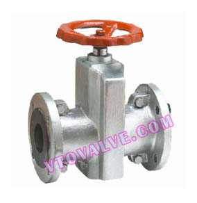 Cast Aluminium Pinch Valves