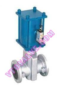 Pneumatic Normally Closed Pinch Valves