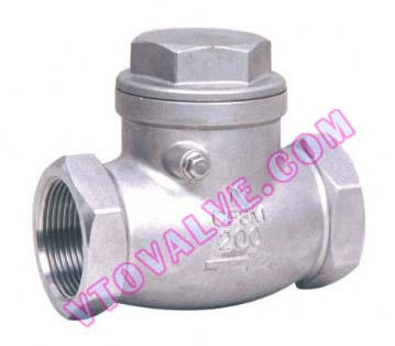 H11 Threaded Check Valves