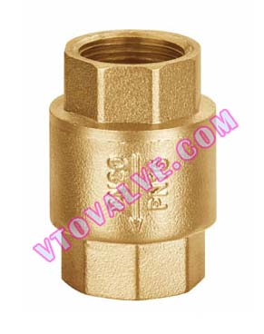 H12 Brass Treaded Check Valves