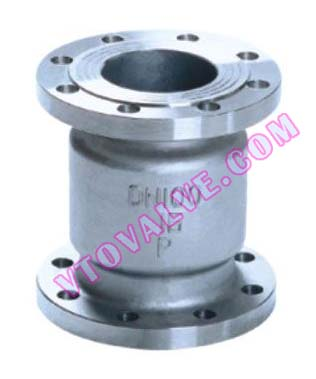 H42 Flanged Vertical Check Valves