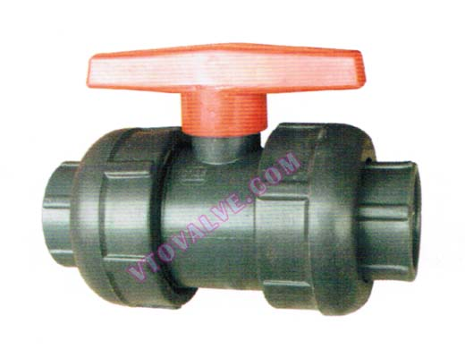 PVC,PVDF,RPP Threaded Ball Valves