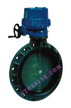 PVC,PVDF,RPP Electric Butterfly Valves