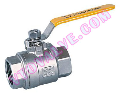2PC Female Threaded Ball Valves