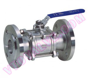 3PC Flanged Ball Valves (1)