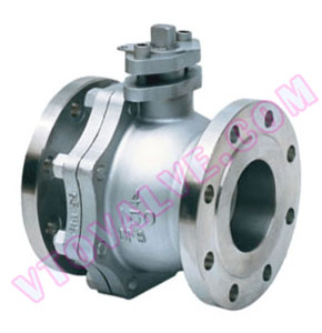 API, JIS, 2PC Soft Seal Flange Ball Valves