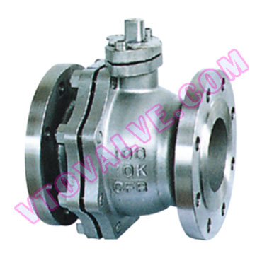 JIS, API, Soft Seal Flange Ball Valves