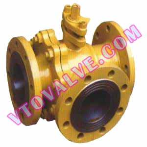 3-Way Flanged Ball Valves (2)