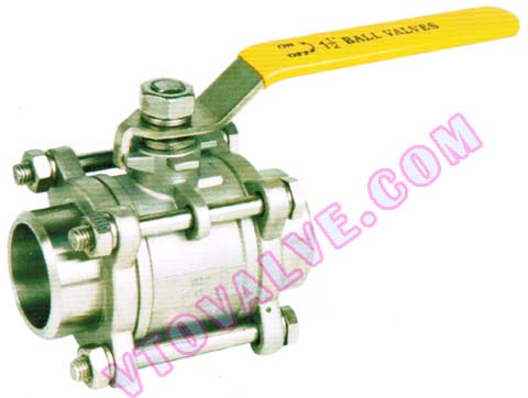 3PC Butt-welding Ball Valves