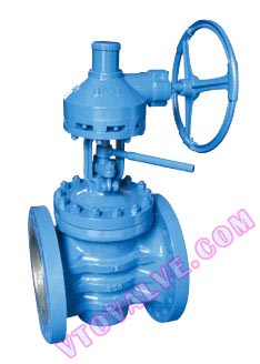 Flanged Lifting Plug Valves According to ANSI