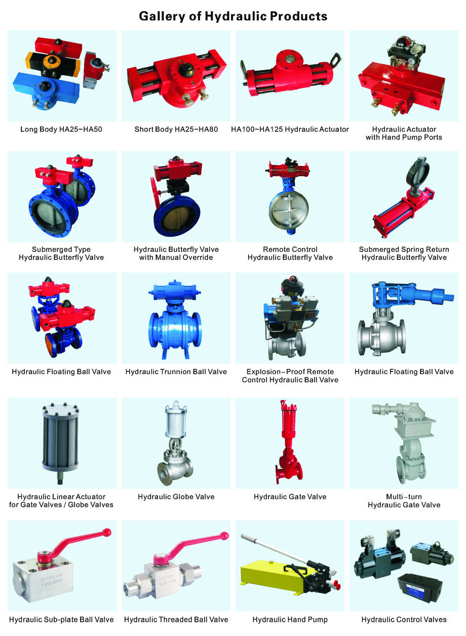 HA100~HA125 - HA Series Miniature Rotary Hydraulic Actuator