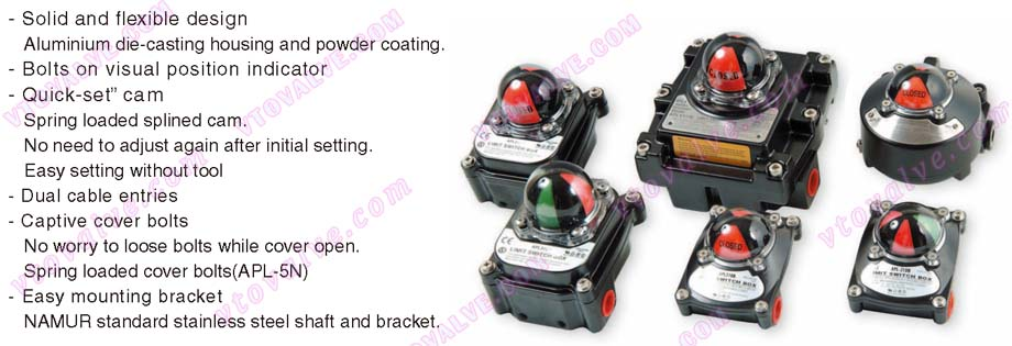Features of HKC APL Limit Switch Box